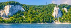 Insel Rügen - Kreideküste (Victoriasicht links und rechts der Königsstuhl)