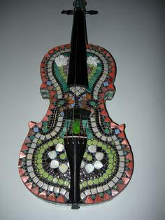 Joan S.'s Mosaic Violin