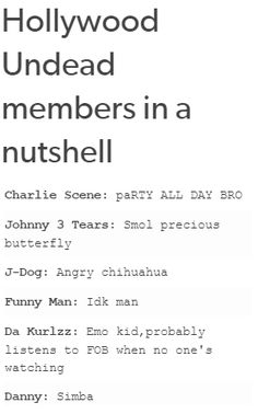No Funny man should be 'Smoke weed everyday' and J-Dog is very accurate and J3T is a smol butterfly love him