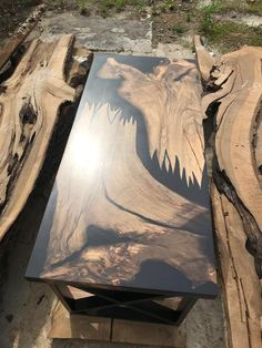 Epoxy Wood Table, Hardwood Table, Epoxy Resin Table, Resin Crafts, Resin Art, Wood Table Design, Resin Furniture, Woodworking, Decoration