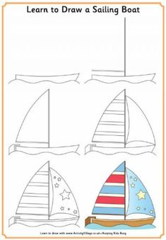 Learn to Draw a Sailing Boat
