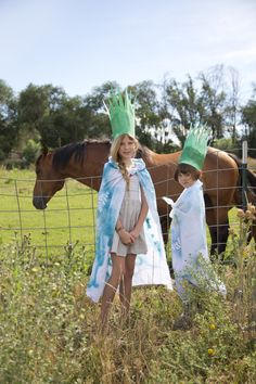 Kids Craft Camp: Nature Crowns and Cloaks | by Mer Mag