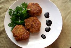 Indian Inspired Salmon Cakes