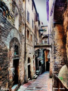 Within the walls of Italian Towns