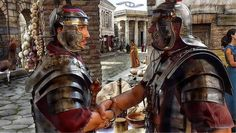 The History of Handshake and How to Perform It All Over the World Roman Legion, Roman Soldiers, Medieval World, Fun World, Ancient Rome, World History, All Over The World, Character Design, War