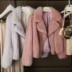 Womens Real Mink Fur Lapel Short Jacket Winter Warm Coat Thiken Slim Parkas XYW for sale Fur Fashion, Vogue Fashion, Winter Fashion, Fashion Women, Warm Coat, Winter Coat, Merian, Womens Parka, Short Tops