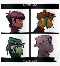 Image result for gorillaz poster