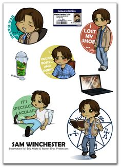Spot on Sammy moments. (~Poledrey on deviantART) #supernatural
