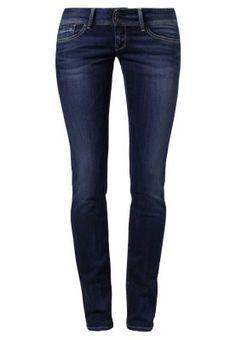 DITA - Jeansy Straight leg - niebieski