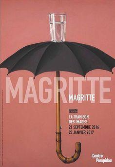 Magritte, la trahison des images, au Centre Pompidou, à Paris, en 2016.