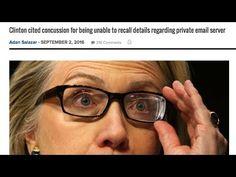 Hillary Clinton Admits She Has Brain Damage & Unfit To Serve - YouTube