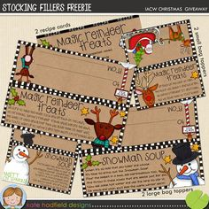 Christmas printable giveaway