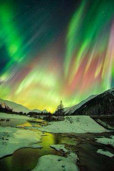 Aurora Boreal. Alaska