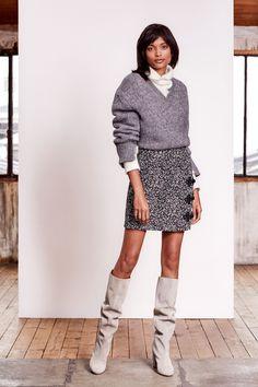 Paule Ka Pre-Fall 2019 Fashion Show Collection: See the complete Paule Ka Pre-Fall 2019 collection. Look 8 Knit Fashion, Fashion Week, Womens Fashion, Fashion Trends, Vogue Paris, Paule Ka, Vogue Russia, Fashion Show Collection, Classy Women