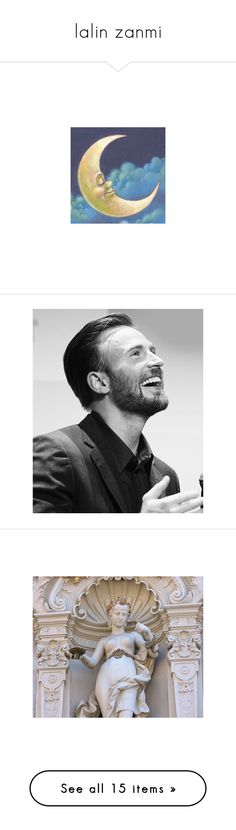 """""""lalin zanmi"""" by rigormortisii ❤ liked on Polyvore featuring chris evans, marvel, people, pictures, photos, backgrounds, art, images, pic and fillers"""
