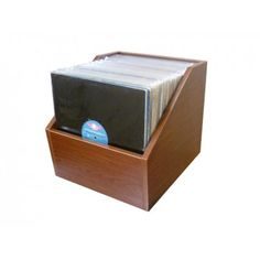 Vintage Coke Crate Turned Into A 45 Rpm Storage Crate