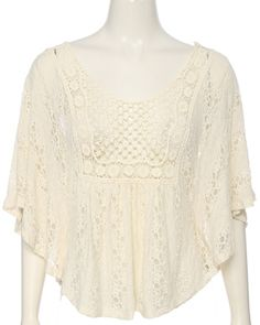 CROCHET ALL OVER LACE PNC- rue21