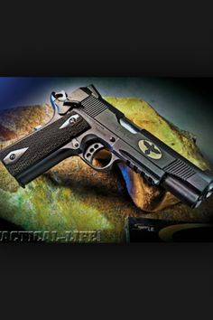 Colt rail gun m1911 a1 .45 Find our speedloader now! http://www.amazon.com/shops/raeind
