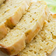 Lemon Zucchini Bread  Made this for potluck...delicious! Replace buttermilk with 1/2 C. milk and 1/2 Tbsp. lemon juice.