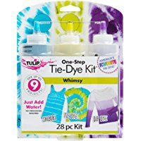 Tulip 35080 Whimsy Tie Dye Kit ** Click image for more details. (This is an affiliate link) Diy Tie Dye Socks, Diy Tie Dye Shirts, Diy Tie Dye Kit, How To Tie Dye, Tulip Tie Dye, Tulip Colors, Colours, Tie Dye Party, Tie Dye Crafts