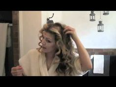 No Heat Curls: Get SJP's BIG Curly Hair with Twisted Buns - Bantu Knots
