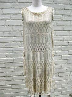 1920s dress.pretty vintage Assiut dress