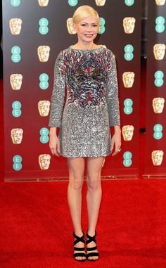 Michelle Williams: 2017-bafta-film-awards-red-carpet-arrivals