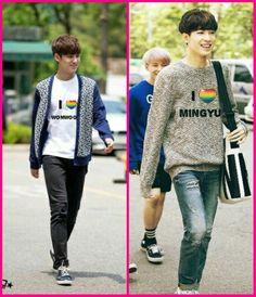 #meanie # mingyu&wonwoo