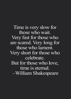 time is eternal ...