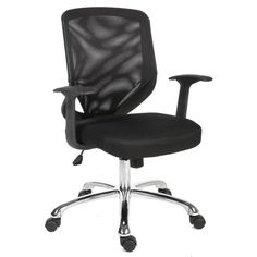 Nova Black Mesh Office Chair Mesh Office Chair, Home Office Chairs, Polywood Adirondack Chairs, Upholstered Swivel Chairs, Office Seating, Executive Chair, Office Storage, Swinging Chair, Diy Chair