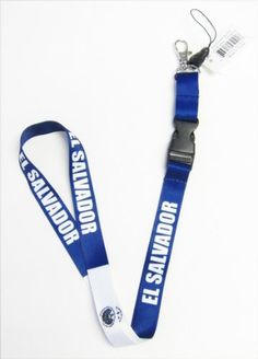 High quality El Salvador Lanyard for 2014 World Cup. - http://topcellulardeals.com/?product=high-quality-el-salvador-lanyard-for-2014-world-cup