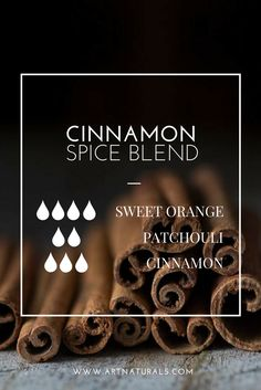 Cinnamon is one of our favorite fall essential oils! Open yourself up to warm feelings with this sweet and soothing Fall blend