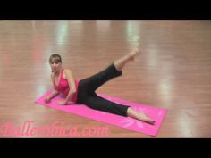 great hip workout. easy and all you need is a yoga mat! doing these for sure!