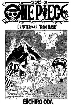 Spoiler One Piece 942 : spoiler, piece, Piece, Ideas, Manga, English,, Piece,