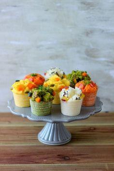 「簡単!カラフル野菜スチームマフィン」あいりおー   お菓子・パンのレシピや作り方【corecle*コレクル】