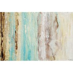 """Mercer41 Healing Tides Painting Print on Wrapped Canvas Size: 26"""" H x 40"""" W x 0.75"""" D"""