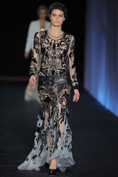 Roberto Cavalli - my favorite designer  - never put it past him to make a statement in every piece!