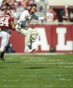 Nick Saban...One of the best NCAA Football Coaches ever...just behind Bear Bryant! :)