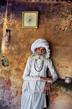 Elderly gentleman in Rajasthan