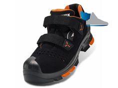 Veľmi moderné a komfortné bezpečnostné sandále UVEX 2 S1 P SRC