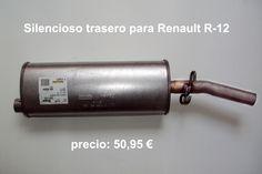 SILENCIOSO TRASERO RENAULT R-12