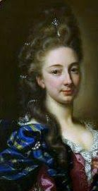 Madame Isis' Toilette:Detail from a portrait of Madame de Noailles by Hyacinthe Rigaud,1692