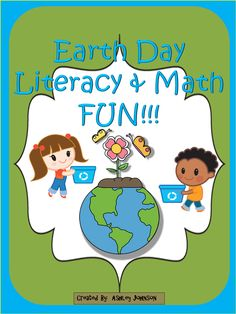 Earth Day Literacy and Math FUN!!! This is a great way to teach your students about how they can do their part to keep our Earth clean. The pack also includes a variety of Earth Day themed Literacy, Writing, and Math printables. Center activities for contractions, synonyms, and antonyms.