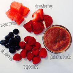 Patriotic Puree - foodiebabies.co