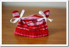 preemie hat tutorial from kids socks, Preemie Baby Hats! NICU, UW NICU, micro preemie, Christmas, Crochet, christmas, Creative giving, crafts, preemie, sewing