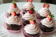 Strawberry cream homemade frosting