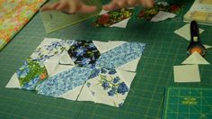 X's and O's Quilt Block - Easy Quilting Tutorials. I like all of Missouri Quilt Company YouTube videos.
