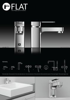 Flat on Behance Water Tap, Booth Design, Technology Gadgets, Bathroom Accessories, Trivia, Product Design, Faucet, Sink, Advertising