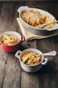 Sweet Potato Spinach Mac & Cheese