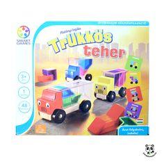 Trükkös teher- Trucky | Pandatanoda.hu Játék webáruház